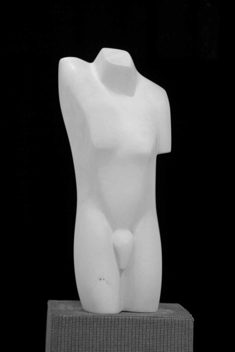 Bertha Saveniers - Hercules - marble - 60*35*15cm