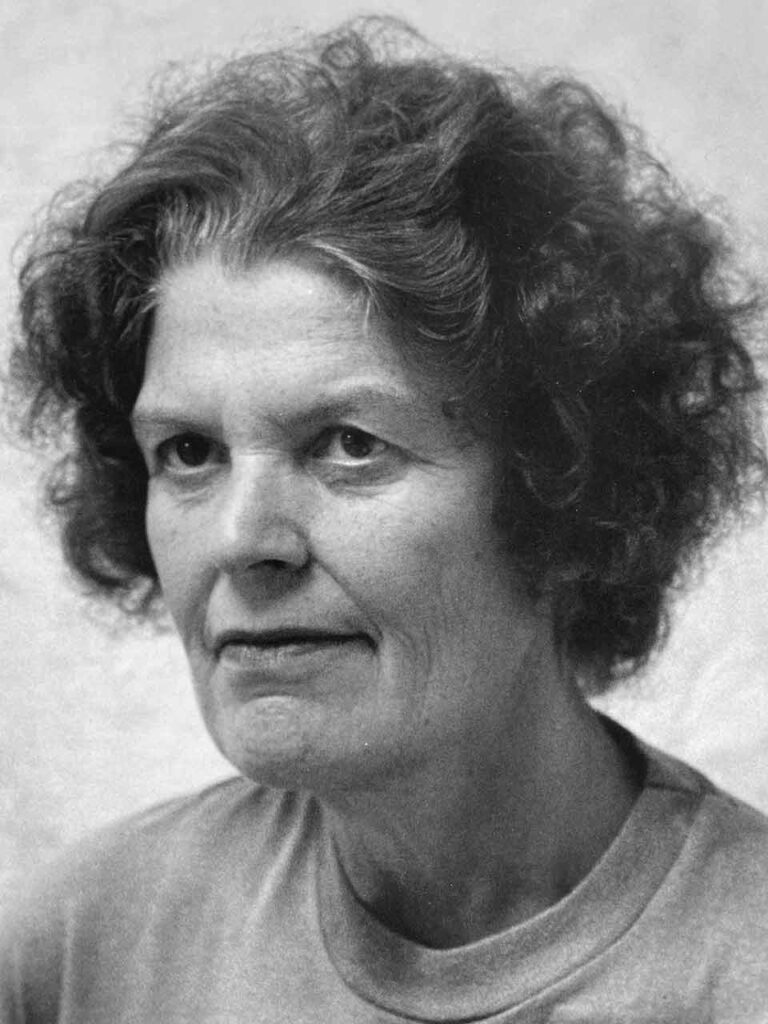 Bertha Saveniers - portret